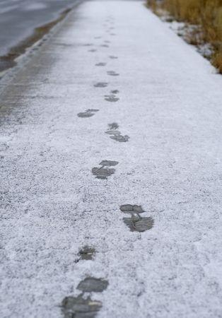 cabizbajo: Las pistas sobre las primeras nieves