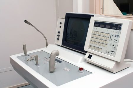 Control panel of X-ray unit