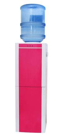 Water cooler isolated on white