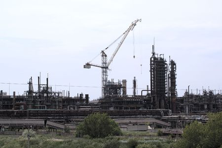 steel works: Construction of new works on the chemical plant