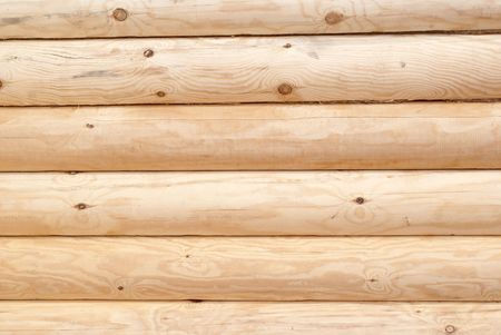 Part  of the wall of log cabin Stock Photo - 7734410