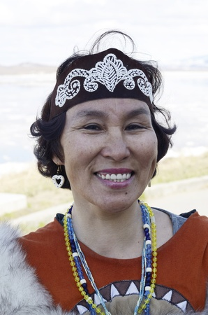 eskimo woman: Chukchi woman