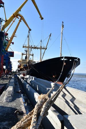 berth: Vessel at the berth