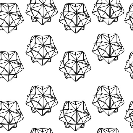 endless: Seamless geometry pattern. Black and white endless background