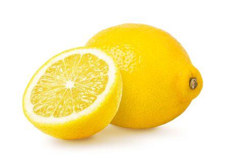 Lemon fruit isolated