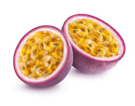 Passion fruit isolated Stockfoto