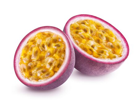 Passion fruit isolated 免版税图像