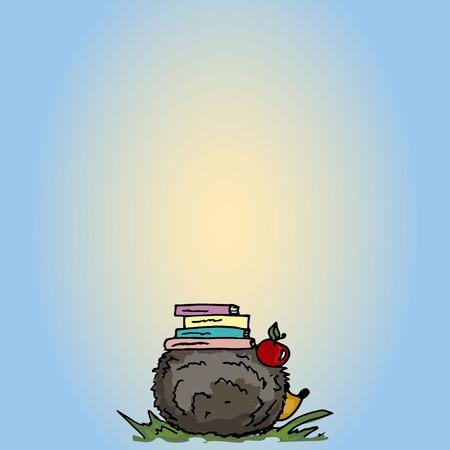 h�risson cartoon: