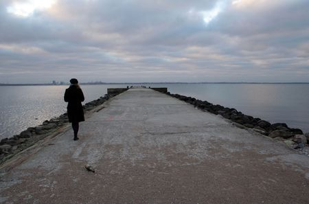 parting the sea:   grief