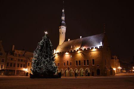 Tallinn night Imagens - 2360832
