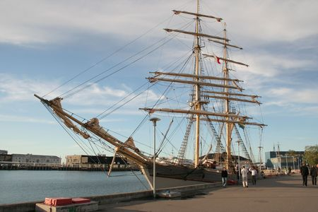 ship in Tallinn Imagens - 3238147
