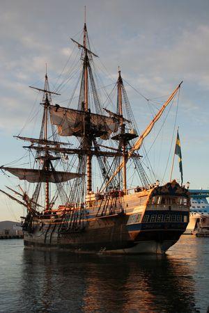 schepen: schip Stockfoto