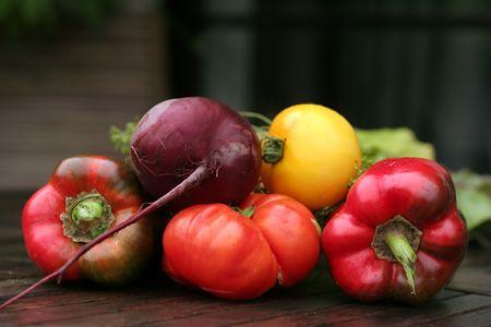 nonfat: fresh vegetables Stock Photo
