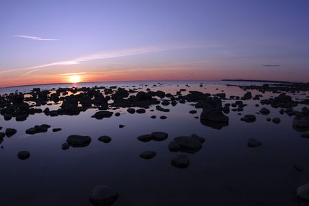 Sea landscape Imagens - 4686065