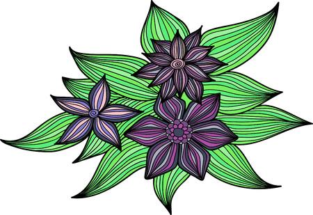 brie: Abstract floral background. Vector flower . Element for design. Illustration