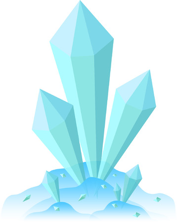 unbreakable: Ice shards Illustration
