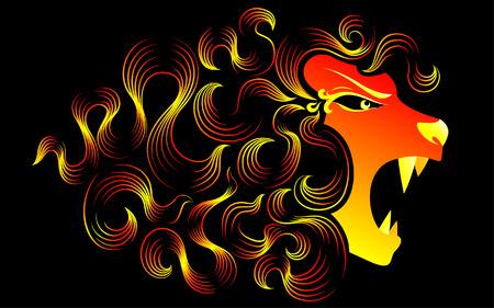 unbeatable: Magical roaring lion