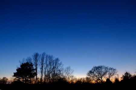 Beautiful Blue hour at Grove Park, Harborne