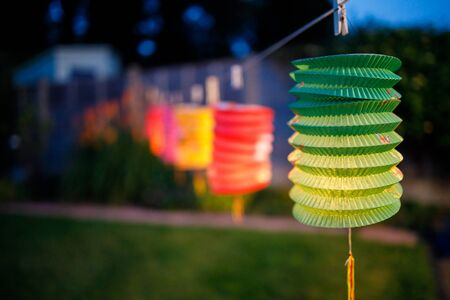 Colorful Lanterns Are Being Displayed During Mid Autumn Festival