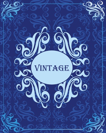 Vintage vector background cover Vector