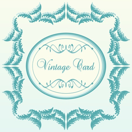 Vintage vector background for card or book cover Stock Vector - 10568952