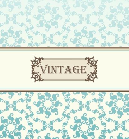free clip art: Vintage vector background for card or book cover Illustration