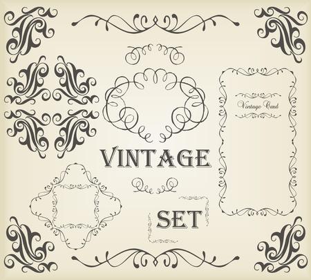 utsirad: Vintage vektor bakgrund med kopia utrymme Illustration