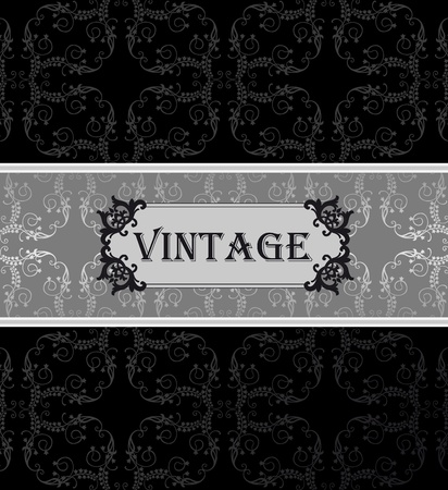 free place: Vintage vector background with copy space Illustration