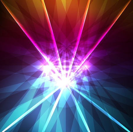 high beams: Abstract background with neon effects and colorful lights