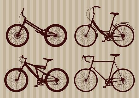classic woman: Bicicleta Vintage Collection ilustraci�n