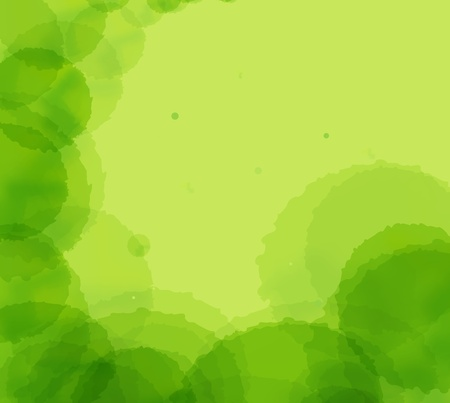 Green abstract light background vector Stock Vector - 12045285
