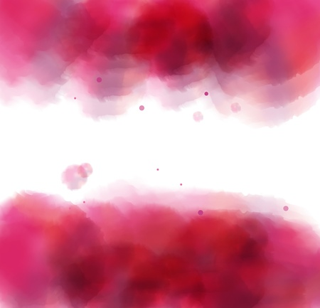 Abstract watercolor background vector Vector