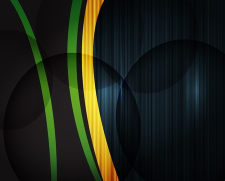 Dark design background with abstract lines Vector