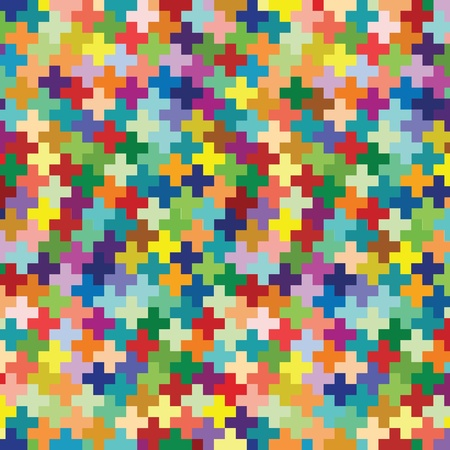 woven: Knitted colorful wool background illustration vector