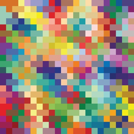 craft: Knitted colorful wool background illustration vector