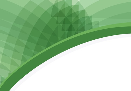 Abstract green background vector with copy space for text Vector