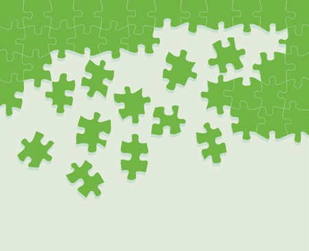 solved: Colorful jigsaw puzzle background for poster