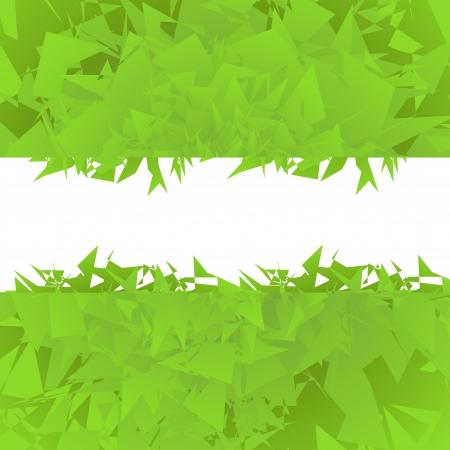 Abstract green background vector Vector