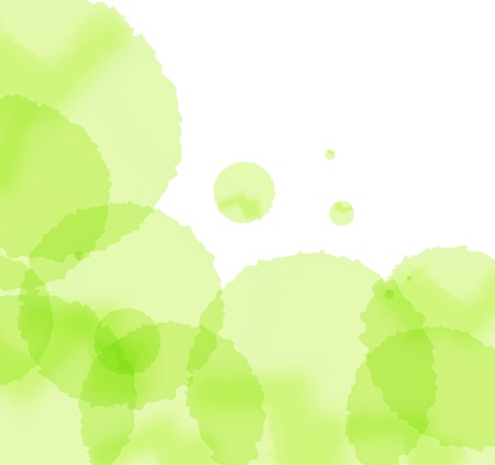 Artistic green splash vector background Stock Vector - 13820884