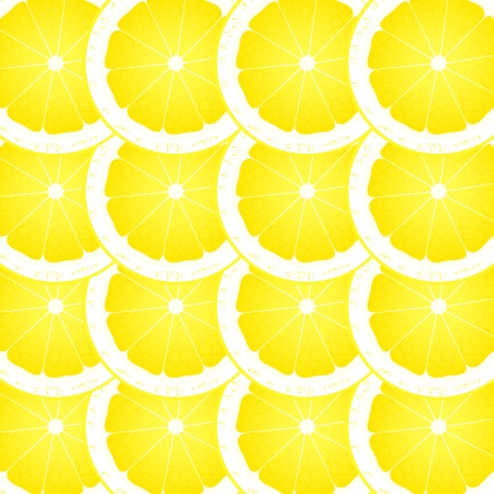 Lemon slices background  Stock Vector - 16932744