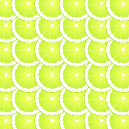 Lime slices background Stock Vector - 16932746