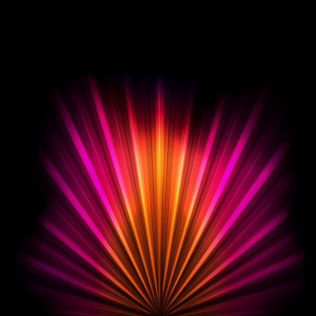 impetuous: Abstract burst background with neon effects and colorful lights