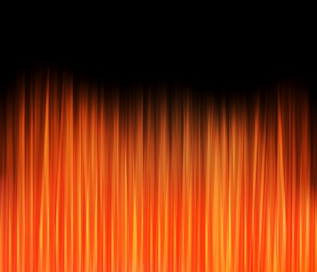 fire background: Abstract fire flame hot background Illustration