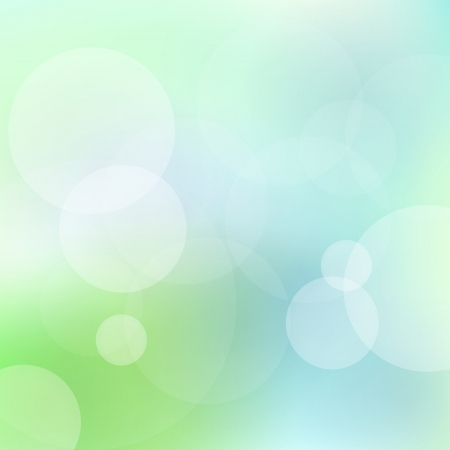 Green and blue abstract light vector background for card Stock Vector - 17408040