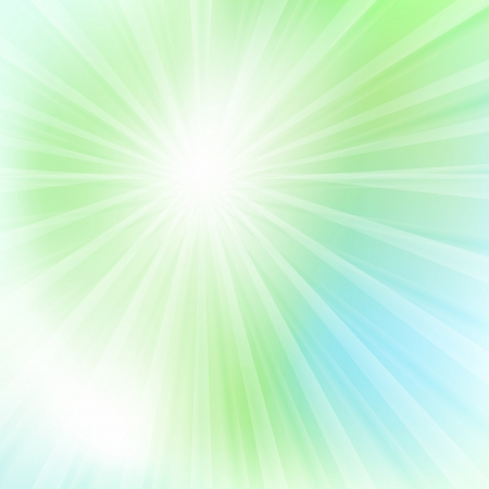 Green and blue abstract light vector background for card Stock Vector - 17408199