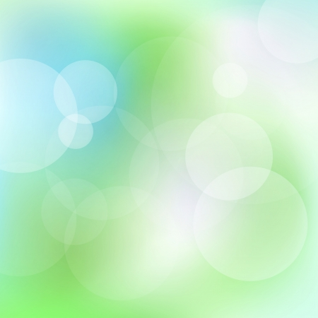 Green and blue abstract light vector background for card Stock Vector - 17408093