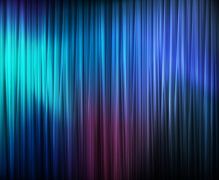 electric blue: Blue abstract vector background concept with neon lines