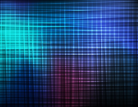 Blue abstract vector background concept with neon lines Stock Vector - 17408188