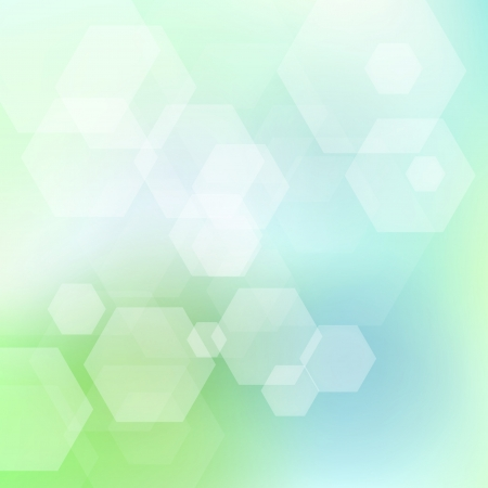 sun lit: Green and blue abstract light vector background for card