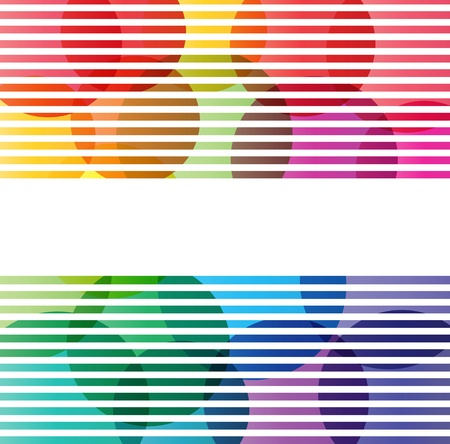 grungy header: Abstract color splashes vector background for poster